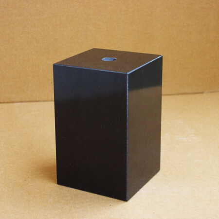Black Marble Pedestal Trophy Base