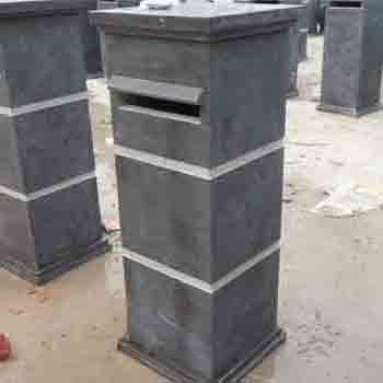 Bluestone Mailbox/ Letterbox/ Stone Post Box
