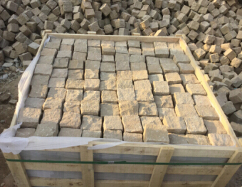Yellow Sandstone Cobbles