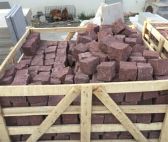 Red Cubic Sandstone