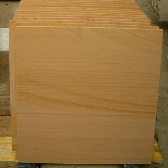 Yellow Wood Sandstone Paving