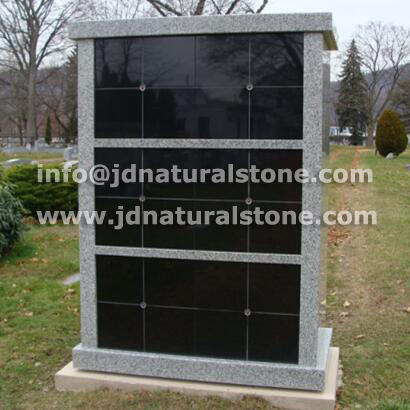 Shanxi Black Granite Columbarium