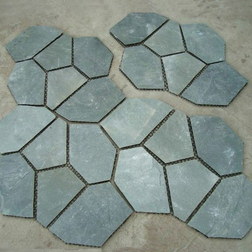 Gray Slate Crazy Tile